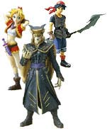 Chrono Cross Figurines